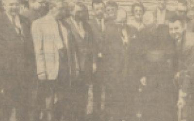 Première pelletée de terre – Le 2 mai 1964