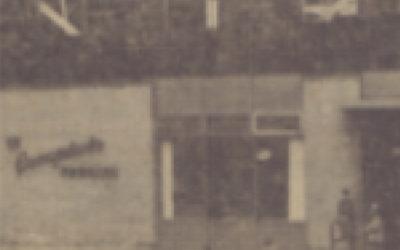 Construction du 2e étage – Le 27 octobre 1970